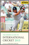 The Wisden Guide to International Cricket 2013